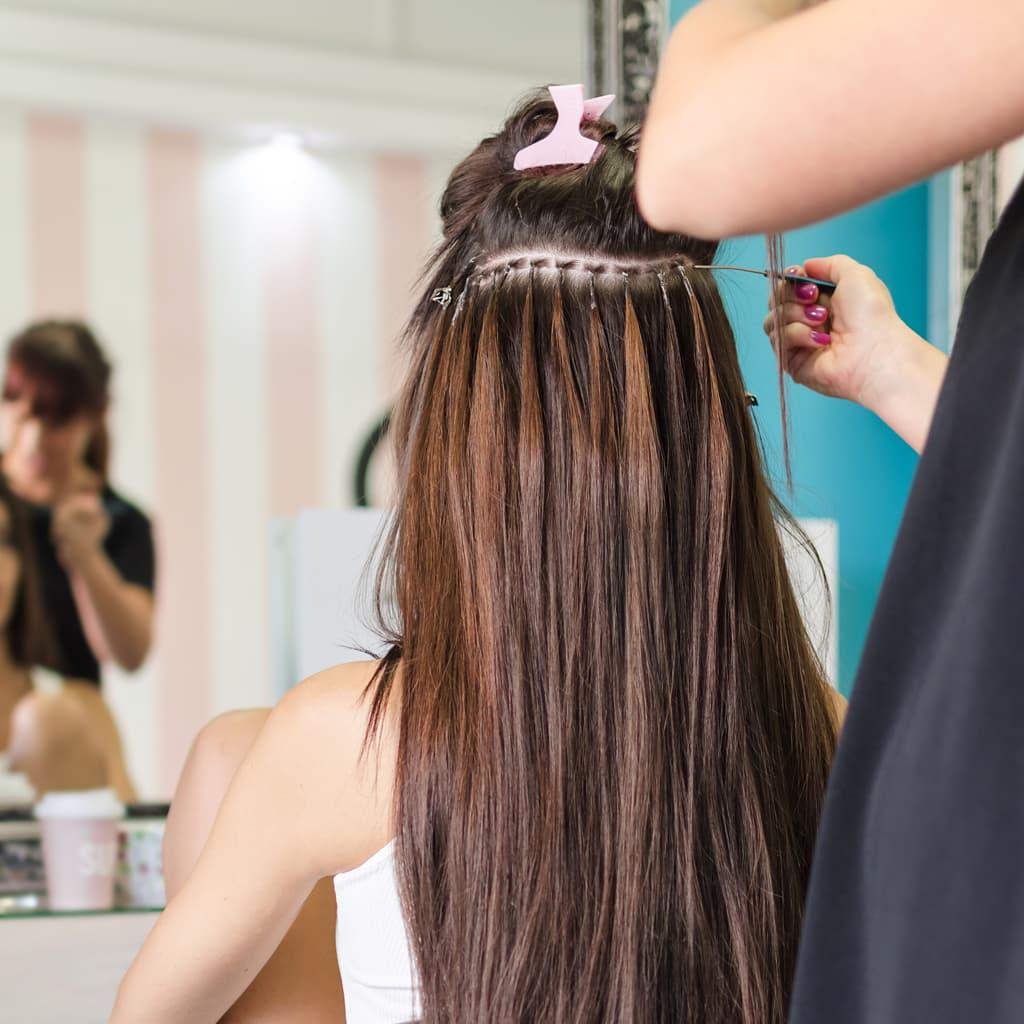 Extensiones De Pelo Natural Hairdreams Peluquería En Vigo